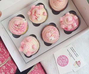 candy, cupcake, and pink image