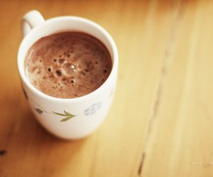 cup, chocolate, and coffee image