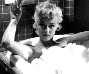 actress, bath, and old pic image