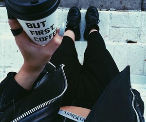 coffee, black, and style image