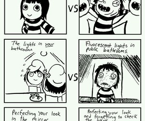 comic, funny, and sarah andersen image