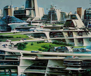 architecture and utopian image