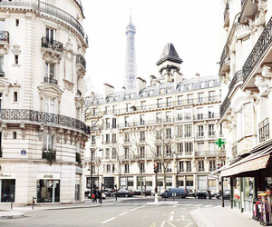 city, paris, and france image