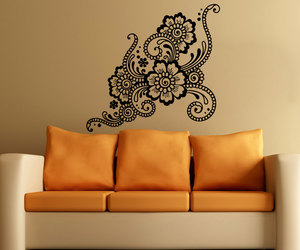 flower, home decor, and murals image