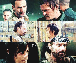 brothers, normanreedus, and rickgrimes image