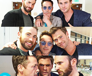 boys, chris evans, and the avengers image