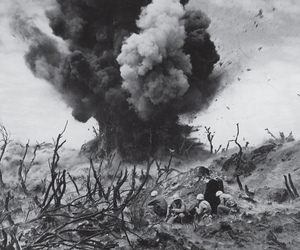 segunda guerra mundial, japon, and iwo jima image