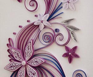 flowers and quilling image