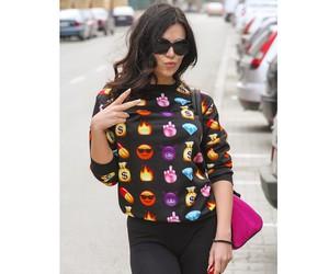 fashion, tumblr, and emoji image