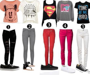 outfit, clothes, and superman image