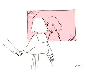 aesthetic, girl, and anime image