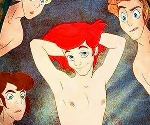 ariel, disney, and flawless image