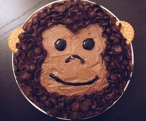 food and monkey image