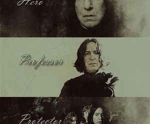 severus snape, harry potter, and always image