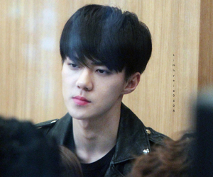 exo, sehun, and radio show image