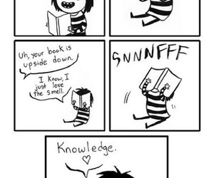 comic, funny, and knowledge image