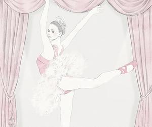 art, b, and ballerina image