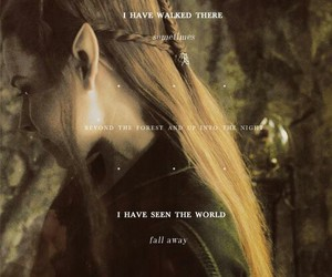 the hobbit, tauriel, and the desolation of smaug image