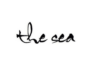 quote, sea, and the sea image