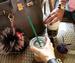 Birkin, coffee, and fendi image