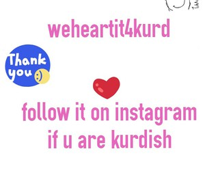 weheartit, kurdish, and instagram image