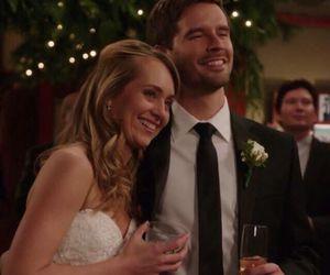 amy, smile, and wedding image