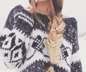 babe, fashion, and knitted image