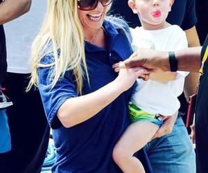 britney spears, sean preston, and momney image