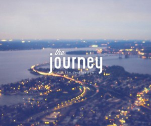 journey, city, and travel image