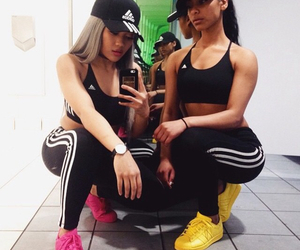 adidas, food, and grunge image