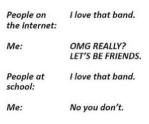 bands, quotes, and tumblr image