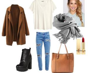 bag, boots, and braid image