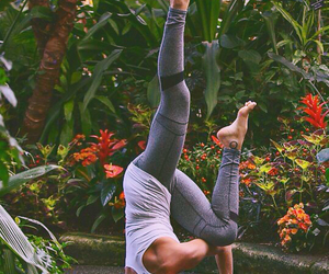 yoga, fitness, and health image