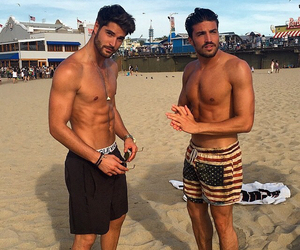 abs, beach, and Hot image