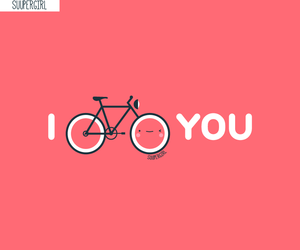 bike and love image