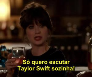 Taylor Swift, new girl, and quote image