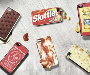 case, phone, and food image