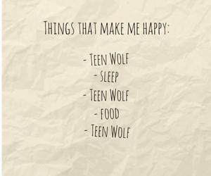 teen wolf, food, and sleep image