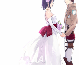 shingeki no kyojin and love image