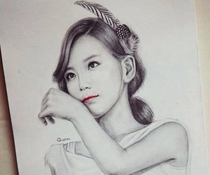draw, girl, and girls generation image