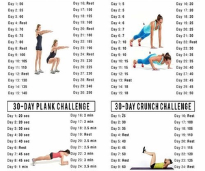 fitness, workout, and challenge image