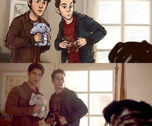 wolf, teen wolf, and scott image