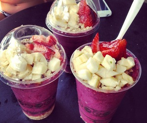 banana, cream, and smoothies image
