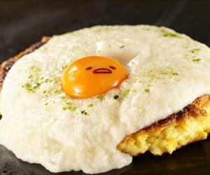 food, kawaii, and egg image