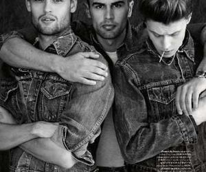 theo james, boy, and douglas booth image
