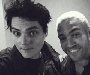 gerard way, pete wentz, and fall out boy image