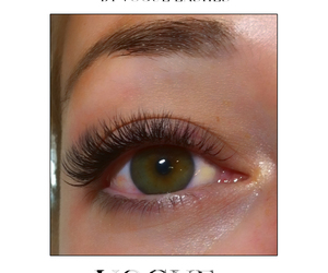 lashes, vogue, and eyelash extensions image