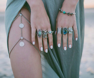 beach, bracelet, and fashion image