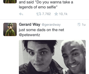 fall out boy, gerard way, and my chemical romance image