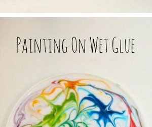 art, glue, and cool image